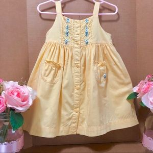 ⬇️$44 Janie And Jack 12M Hand Embroidered Dress